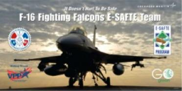 Lewis Love is a member of Lockheed Martin's F-16 Fighting Falcons E-SAFTE Team.