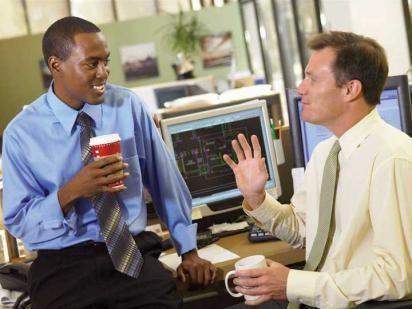 Engaging Work Dialogs