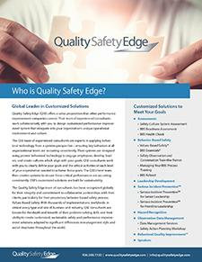 Who Is Quality Safety Edge?